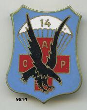 Insigne , ACP. /  14 Rgt. Parachutiste de Commandement et Soutien  , ( sigle )