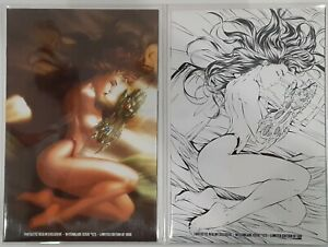 WITCHBLADE #125 Lot of (2) VARIANT FANTASTIC REALM EXCLUSIVE MICHAEL TURNER RARE