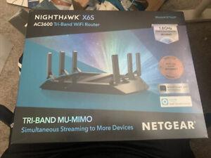 NETGEAR Nighthawk X6S AC3600 Tri-Band 2 Port WiFi Router (R7960P) Docsis 3.1