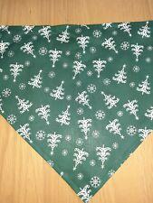 pet bandana Christmas large handmade new unused