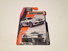 Matchbox BMW M5 Police White Diecast Model Car