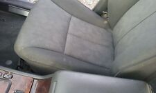 MERCEDES E W210 FRONT SEAT BLACK FABRIC 9C41 LEFT RIGHT ELECTRIC PRICE FOR ONE