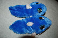 Toddler Little Boys Slippers BLUE SHARK Eating Foot S 5-6 M 7-8 L 9-10 XL 11-12