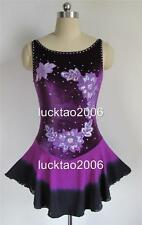 Gorgeous Figure Skating Dress Ice Skating Dress #8001-2 size L