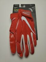 NIKE SUPERBAD FOOTBALL GLOVES Red/White GF0654-667 Youth Size S