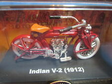 1912 INDIAN MOTORCYCLE V-12 W/DISPLAY BOX 1/32 SCALE MODEL