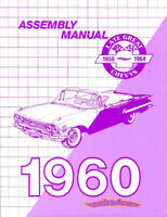 CHEVROLET 1960 MANUAL BOOK ASSEMBLY RESTORATION SHOP BELAIR 60