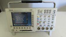 Tektronix Tds3014b Oscilloscope Dpo 100 Mhz 125gsss 4 Ch Color Display