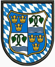 Wappen von Tegernsee Patch Pin, Aufbügler