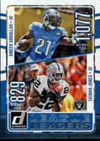 2016 Donruss League Leaders Inserts NFL Football Card Singles You Pick