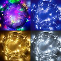 100 LED 33ft Christmas Tree Fairy String Party Lights Xmax Waterproof Color Lamp
