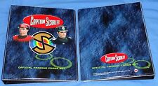 Captain Scarlet (2015) Trading Cards Binder + GF2 Autograph/RAD1 Promo/10 Pages