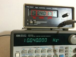 Philips Fluke PM 6667 Very High Resolution Frequency Counter
