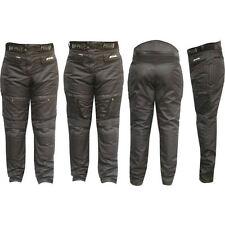 Pantalone Moto Cordura NERO-3131-PROTEZIONI-CE