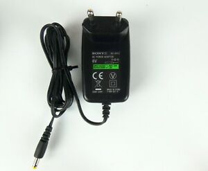 Genuine SONY AC-6013 Adapter / Power Supply (6V / 1.3A)