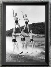 Outstanding... Water Ski Pyramid ... Vintage 8