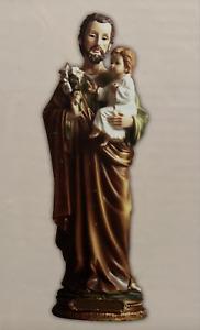 Saint Joseph Resin Statue figurine (30cm H)