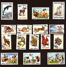 ROUMANIE   Les animaux: chiens,chats,lapins, divers     281T2