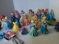 Disney Princess Mini Dolls Large Lot. Incl Few Extra Dresses