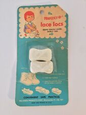 NOS Vintage Protect-O Lace Locs for Child's Shoes Vintage Packaging/Advertising
