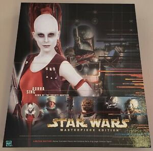 STAR WARS EPISODE I MASTERPIECE EDITION AURRA SING DAWN OF THE BOUNTY HUNTERS