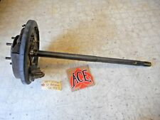00-02 Toyota Tundra LEFT Driver REAR Axle Shaft w Backing Plate NON ABS