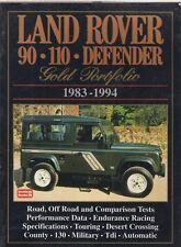 LAND ROVER 90 110 DEFENDER PETROL & DIESEL ( 1983-1994 ) PERIOD ROAD TESTS BOOK