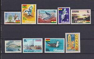 s16330) GHANA  MNH** 1967, Definitives 9v