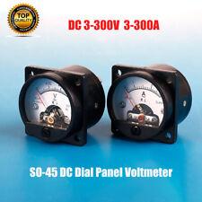5 Drähte Doppel- Led Digital- Voltmeter Amperemeter Rot // Dc 0v-200v 200a