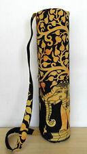 Indian Cotton Gym Yoga Tote Bag Mandala Ethnic Shoulder Strap Fitness Adjustable