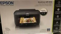 Epson WorkForce WF-7210 Wireless Wide Format Color Wi-Fi Direct Printer - NEW