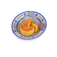 Dollhouse Miniatures Cheese Cakes Mini Food Decoration~ .yu
