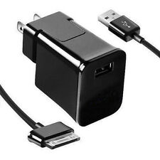 USB US AC Adapter Wall Charger For Samsung Galaxy Tab P3100 P5100 P7510 N5100
