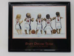 Baby Dream Team by Kenneth Gatewood Michael Jordan Bird Barkley Magic Ewing 10x8