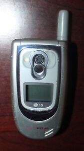 LG VX6100 Verizon  Camera GPS Speakerphone Silver