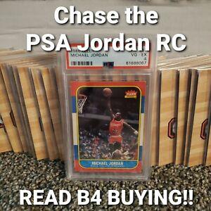 """Chase"" the Michael Jordan RC PSA 4 - READ BEFORE BUYING - L@@K"