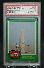 1977 Topps Star Wars #206 Searching for the Missing Droid! Psa 8 Green Series 4