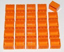 LEGO LOT OF 25 ORANGE CUPBOARD CABNIT PIECES