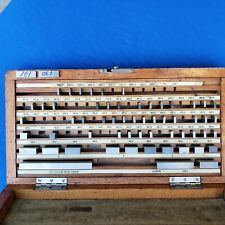 Set of 57-Piece Gage Blocks, LSS, Koruda, in Koruda Case