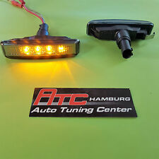 BMW E39 Limousine+ Touring LED Seitenblinker schwarz-Smoke-Chrom/Black 1995-2003
