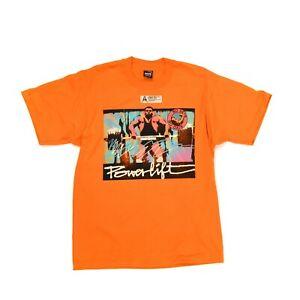 Vintage 80s Daffy Dan Powerlifting Workout Screen Print 50/50 Blend T Shirt L