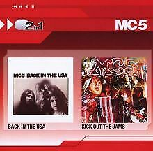 Back in the Usa/Kick Out the Jams (2in1) von Mc5 | CD | Zustand gut
