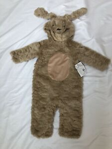 Pottery Barn KIDS Baby Puppy Dog Halloween Costume 12 - 24 months 18 Tan Brown