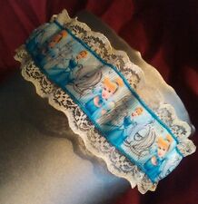 Cinderella on ivory lace wedding garter, burlesque garter new