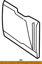 FORD OEM 07-10 Explorer Sport Trac Back Panel-Access Panel 7A2Z7840300D
