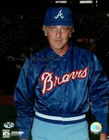 "Phil Niekro Signed 8X10 Photo ""HOF 97"" Autograph Braves Warmup Jacket Auto w/COA"