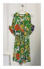 Women's Designer T Bags Los Angeles Floral Print Dress Size Small