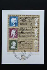 Timbre ALLEMAGNE RDA - Stamp Germany Yvert et Tellier Bloc n°80 obl (Y1)