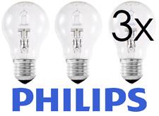 PHILIPS 42 W = 55 W alogena ECO GLS Dimmerabile ES E27 Confezione da 3