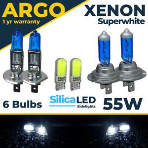 For MG ZT ZT-T 55w Xenon White Headlight 2001-2005 High Low Led Side Light Bulbs